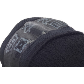Sealskinz Waterproof All Weather Ankle Socks with Hydrostop Black/Grey